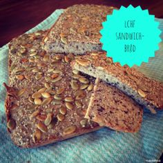 Lækkert LCHF-sandwichbrød til madpakken - Madbanditten