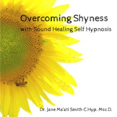 $8.99 Overcome Shyness with sound healing self hypnosis