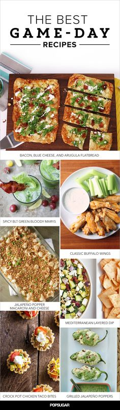 Your Ultimate Game Day Grub Guide: of the Best Recipes For Super Bowl Snacking Tailgating Recipes, Appetizers For Party, Slow Cooker Recipes, Cooking Recipes, Healthy Recipes, Healthy Eats, Football Food, Football Treats, Vegetarian Cooking