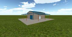 Cool 3D #marketing http://ift.tt/1T9n6gG #barn #workshop #greenhouse #garage #roofing #DIY