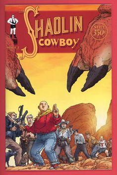 shaolin cowboy | Details about SHAOLIN COWBOY #2 3 4 5 Set / Geof Darrow / Burlyman