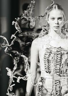 #Tanya Dziahileva #Iris Van Herpen