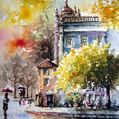 passion for watercolour..