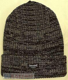 585aa80ee15 Tough thinsulate insulation 40 gram beanie ski knit winter warm watch cap  hat os