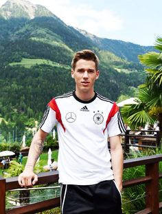 Erik at the World Cup training camp in South Tirol