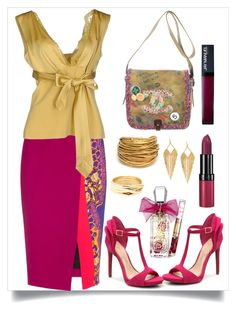 """""""Untitled #239"""" by magdaevitaa ❤ liked on Polyvore featuring Peter Pilotto, SCERVINO STREET, Chanel, Juicy Couture, Rimmel, Black & Sigi, Panacea and Repossi"""