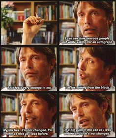 ..Yes, Mads, you are just Jenny from the block
