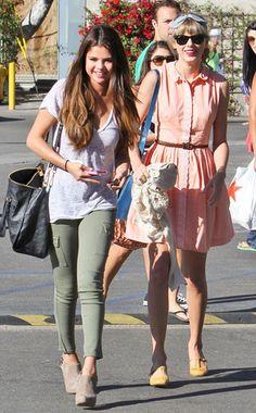 Selena Gomez. Taylor Swift. Best Fashionable Friends!