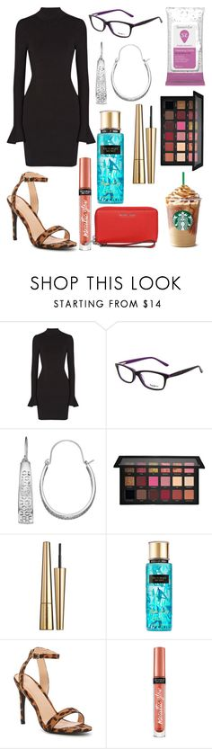 """Untitled #11993"" by ohnadine ❤ liked on Polyvore featuring MICHAEL Michael Kors, Pepe Jeans London, Jennifer Lopez, Huda Beauty, Victoria Beckham, Victoria's Secret and ANNA"