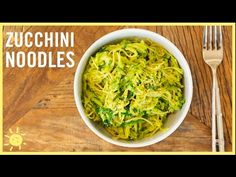 EAT | How to Make Zucchini Noodles 2 Ways! - YouTube
