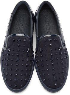 92d32d489ade Jimmy Choo - Navy Stars Grove Sneakers Marineblau