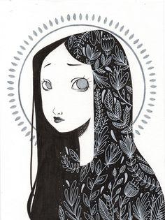 Image result for ink illustration