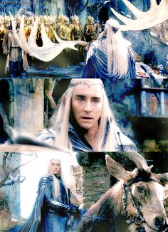 I came to reclaim something of mine - The Hobbit : the Battle of the Five Armies - Lee Pace as Thranduil