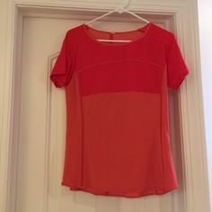 Lululemon tee Lightly used no stains or snags this cute colorful lulu tee will brighten up your outfit lululemon athletica Tops Tees - Short Sleeve