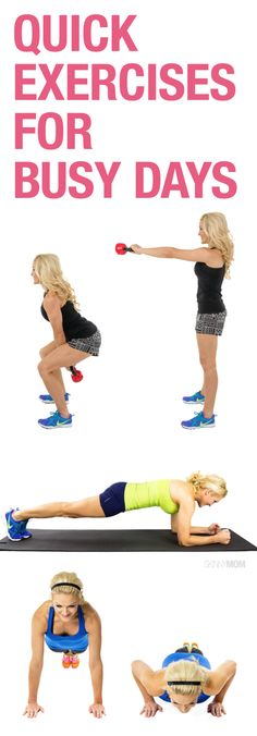 8 full body exercises!
