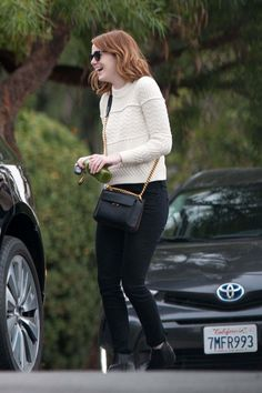 Emma Stone Out In Los Angeles - October 27, 2016