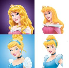 """This makes me sad. Even the """"old"""" princesses don't look like the ones from the movie! What was wrong with the girls from their movies?"""