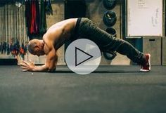 Get Next-Level Core Strength With This Plank Variation Workout #rippedabsmen