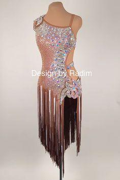 Latin Dance Dresses & Rhythm Dresses by Radim Lanik Ballroom Costumes, Latin Ballroom Dresses, Ballroom Dance Dresses, Dance Costumes, Ballroom Dancing, Latin Dresses, Baile Jazz, Salsa Dress, Dance Outfits