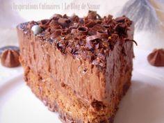 Chocolate Mousse Cake A No Bake Desserts, Dessert Recipes, Chef Cake, Chocolate Mousse Cake, Dessert Drinks, 20 Min, Something Sweet, No Bake Cake, Food Inspiration