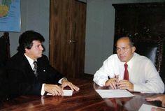 Ministro Eliseu Padilha e Deputado Alexandre Santos Transportation