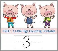 Preschool Educational Activity: 3 Little Pigs