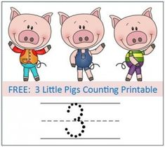 Preschool Educational Activity: 3 Little Pigs
