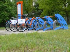Filfri Bikes - Bike rental station can be placed everywhere