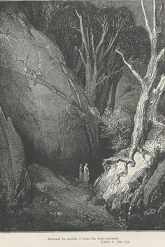 Inferno Canto 1 spirit guide - Gustave Doré - Wikimedia Commons