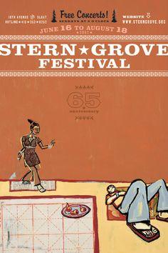 Stern Grove Festival by CDA