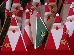 Картинки по запросу новогодние коробочки с шоколадом своими руками
