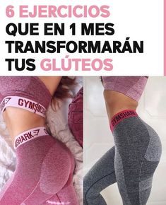 6 Ejercicios que en 1 mes transformarán tus glúteos - Name Tutorial and Ideas Health And Wellness, Health Tips, Health Fitness, Herbal Remedies, Natural Remedies, Butt Workout, Gym Time, Health Motivation, Herbal Medicine