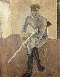 Glyn Warren Philpot, Man with a gun