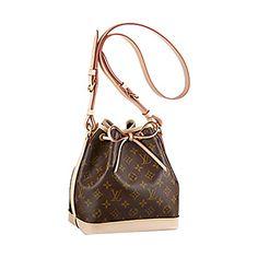 Authentic Louis Vuitton Monogram Canvas Noé BB Shoulder Bag Strap Handbag Made in France