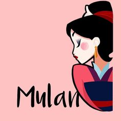 """""""During today's lunch break I had time to make #Mulan. #Disney #drawing #doodle #girlsinanimation #sketch"""""""
