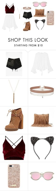 """""""Untitled #169"""" by sehba03 on Polyvore featuring WithChic, MANGO, Alexis Bittar, Miss Selfridge, BCBGeneration, SONOMA Goods for Life, Cara and Kate Spade"""