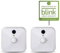 Blink Set of 2 Wire-Free HD Security Camera w/ Motion Alert Live Monitoring