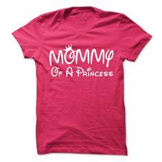 (Top Tshirt Charts) Mommy Of A Princess [TShirt 2016] Hoodies, Funny Tee Shirts
