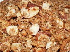 Homemade Granola - There is nothing like homemade granola fresh out of the oven.  It's so easy to make and way tastier than store bought.