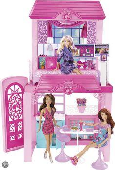 Barbie Glamour Vakantiehuis, Mattel   Speelgoed