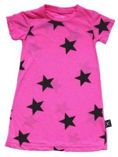 NUNUNU A Dress neon pink