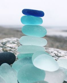 I know it's 'just' beach glass but the colours and smoothness are calming and healing too. they're so pretty! Colorful Wallpaper, Nature Wallpaper, Wallpaper Backgrounds, Trendy Wallpaper, Blue Aesthetic Pastel, Aesthetic Colors, Blue Aesthetic Tumblr, Nature Aesthetic, Photo Wall Collage