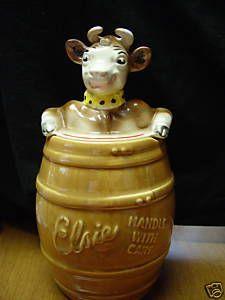 Elsie the Cow Cookie Jar