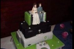 This is the best vidiot wedding cake ~geek~