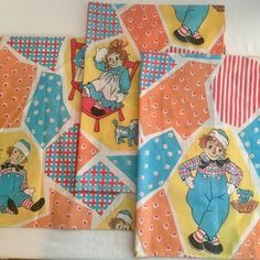 2 Raggedy Ann Signed Prints~Quilt~Sewing Machine~Lanterns~Direct from Artist!