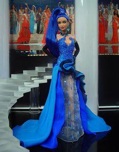 Miss Cook Islands 2013/14 by Ninimomo Dolls