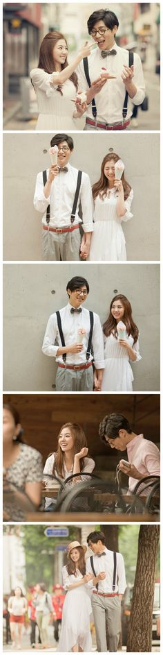 Cafe dating in Seoul. Casual Korean prewedding shoot | May Studio on http://www.onethreeonefour.com/