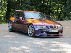 BMW Z3 M Coupe with flip-flop paint
