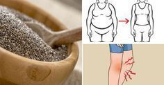 12 things that happen when you regularly eat chia seeds Best Smoothie, Smoothies, 300 Calories, Chia Recipe, Check Up, Omega 3, Loose Weight, Superfoods, Healthy Tips