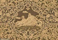 Antique tablecloth